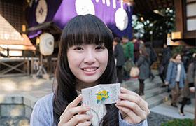 花守ゆみりによる東京大神宮ヒット祈願レポート